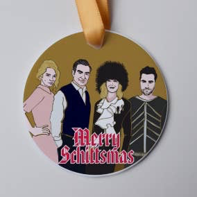 Merry Schittsmas Holiday Ornament