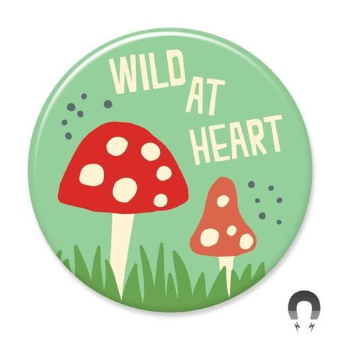 Wild at Heart Magnet 2.25""