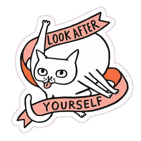 Look After Yourself Sticker
