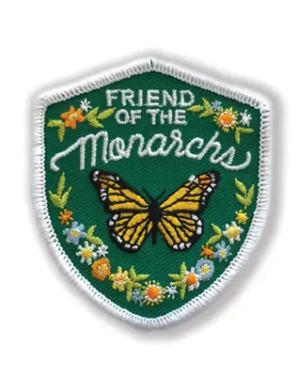 Monarch Butterfly Iron-On Patch