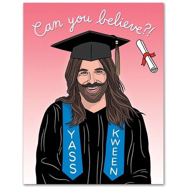 JVN Can You Believe? Graduation Card