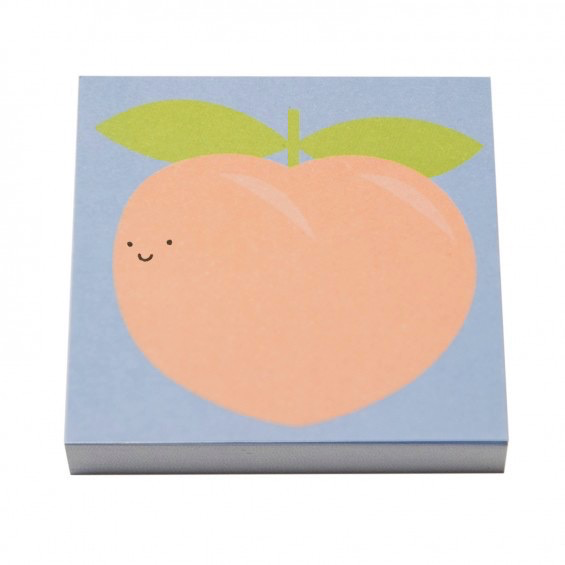 Peach Booty Sticky Notes