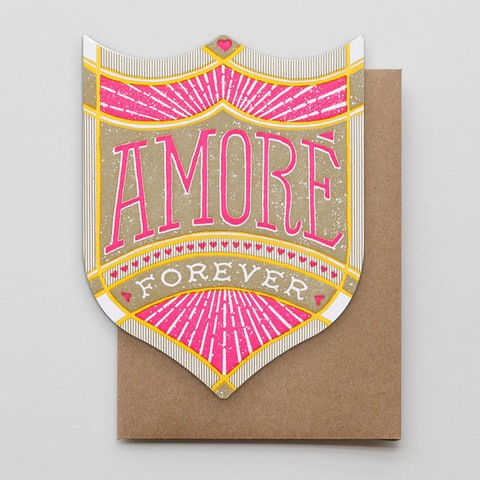 Amore Forever Valentine Card