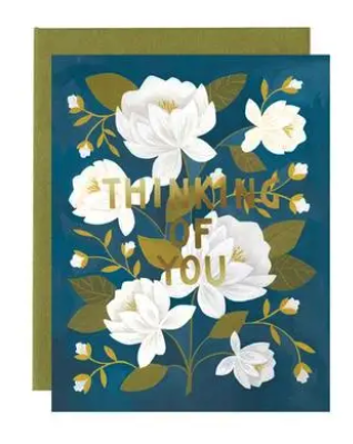 Raleigh Floral Thinking of You Card