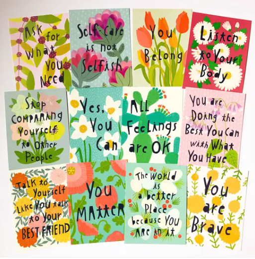 Self Love Postcard (Set of 12)