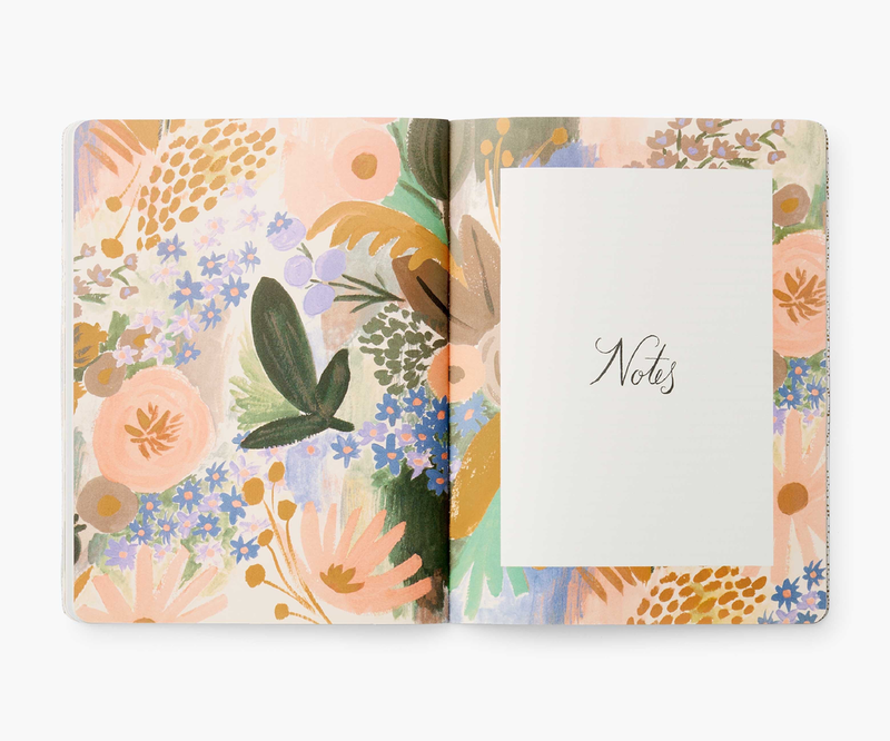 2021 Luisa Floral 12 Month Appointment Notebook