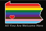 All Yinz Are Welcome Here T-Shirt