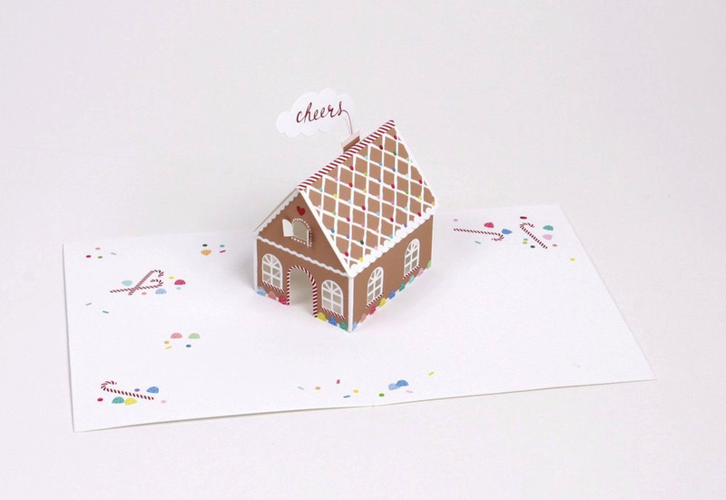 Candy House Pop-Up Card