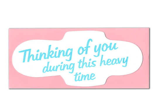 Heavy Time (Pad) Encouragement Card