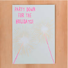 Holiday Sparkers Card
