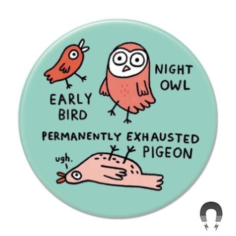 Gemma Correll - Permanently Exhausted Magnet