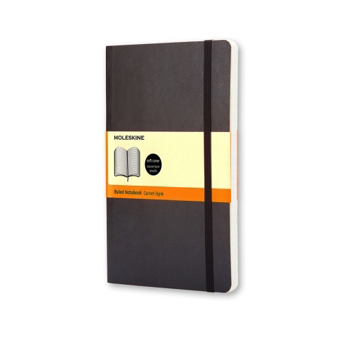 Hardcover Ruled Classic Notebook