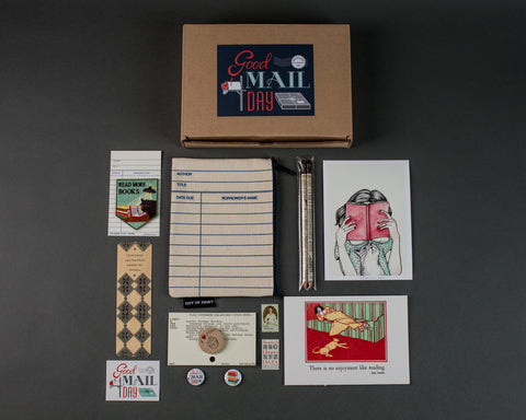 Good Mail Day Club - Book Lover Box
