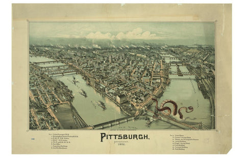 Pittsburgh & the Monongahela Monster