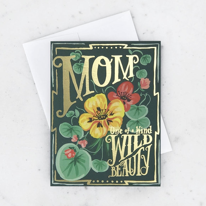 Vintage Seeds Mother's Day Card