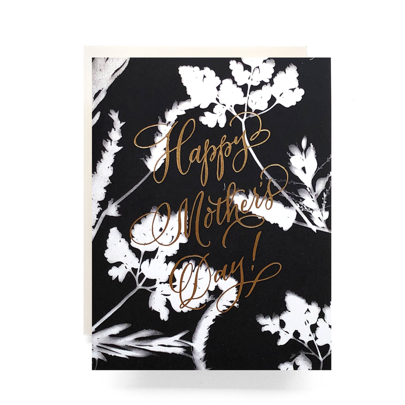 Sunprint Mother's Day Card