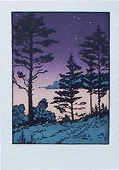 Twilight Sheepscot River Sympathy Card