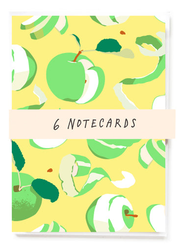 Apples Notecard Set