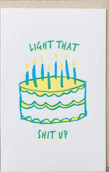 Light That Up Birthday Card