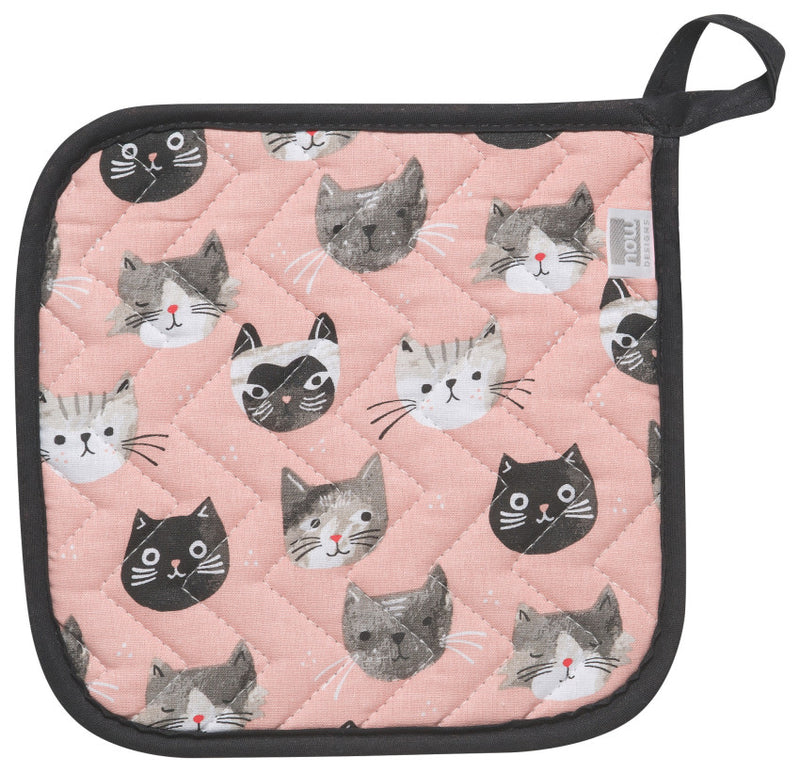 Cat's Meow Potholder