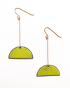 Enamel Dangle Earrings