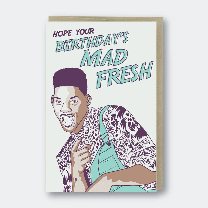 Mad Fresh Birthday Card