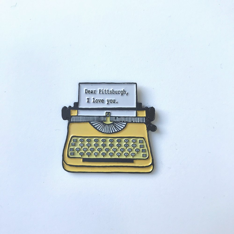Pittsburgh I Love You Pin