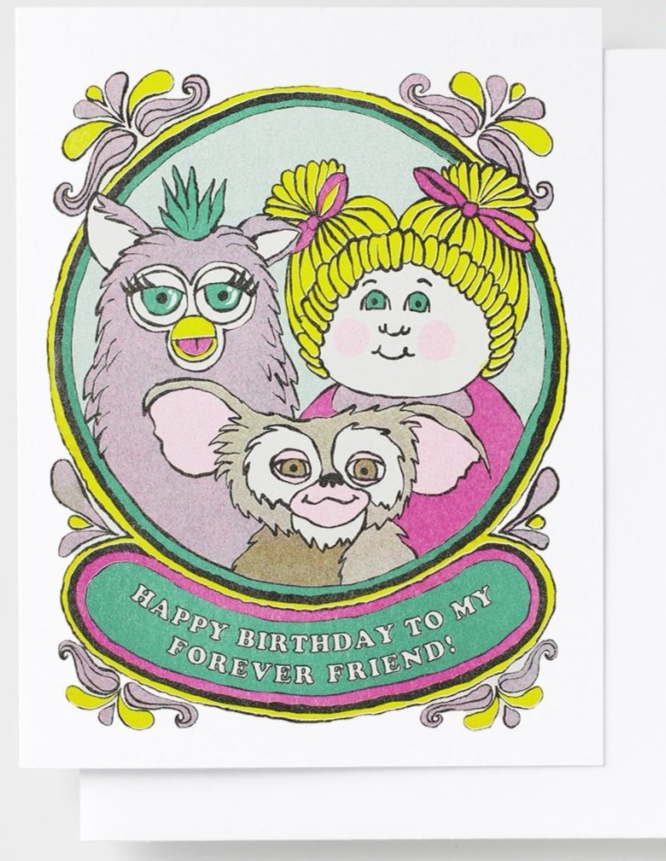 Happy Birthday Forever Friend Card