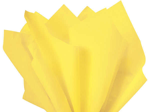 Bright Yellow Tissue Paper