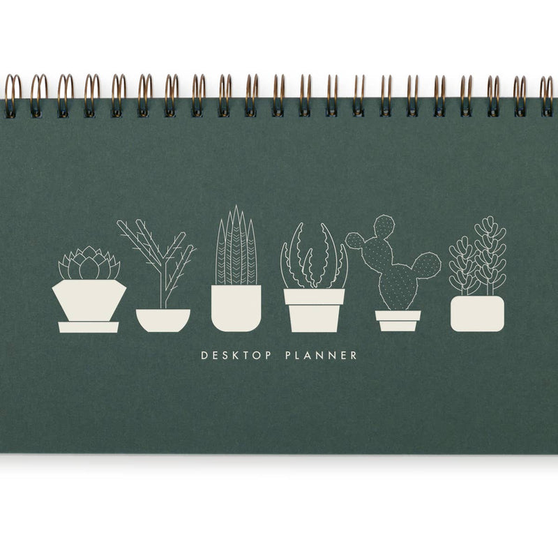 Simple Succulent Weekly Planner