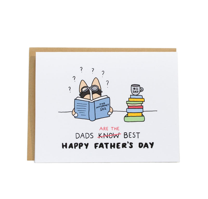 Dads Are the Best Father's Day Card