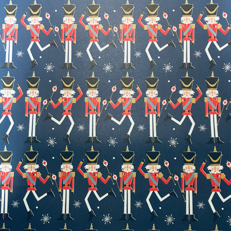 Nutcrackers Wrap Paper Sheet (pick up only)