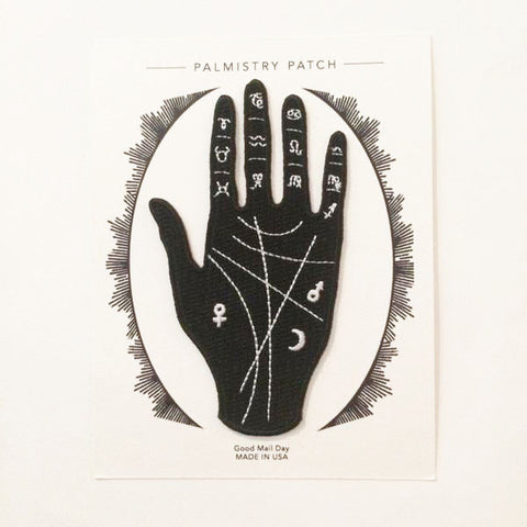 Palmistry Iron-On Patch