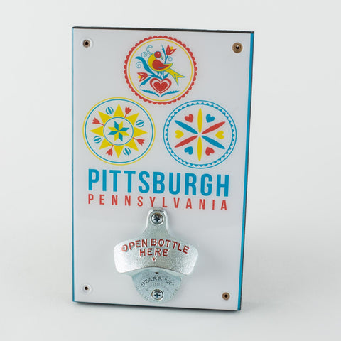 Pittsburgh Folk Bottle Opener