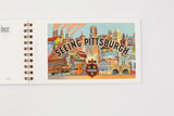 Vintage Pittsburgh Postcard Book