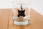 Black Cat Tumbler Glass