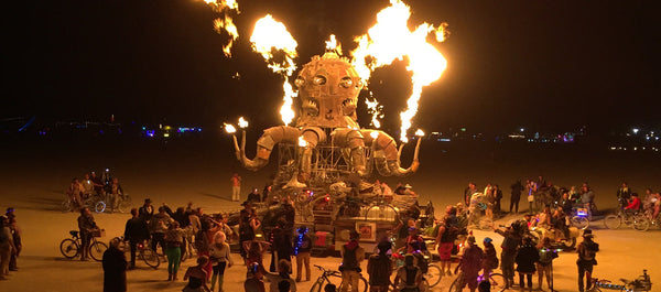 Forget 3 Strikes and You're Out. 3 Hits and You're Out. My Adventures at Burning Man.