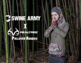 Swine army hoodie real tree camo