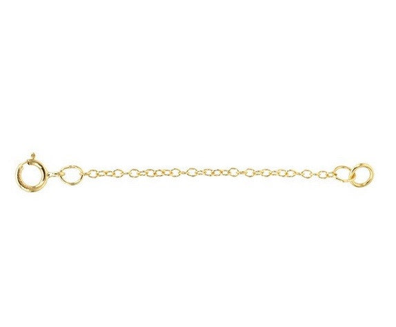 Necklace/Bracelet extender - Sterling Silver or Gold-Filled