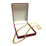14k Yellow Gold Miami Cuban Link Chain Necklace - Width 5.8mm - JewelryAffairs  - 4