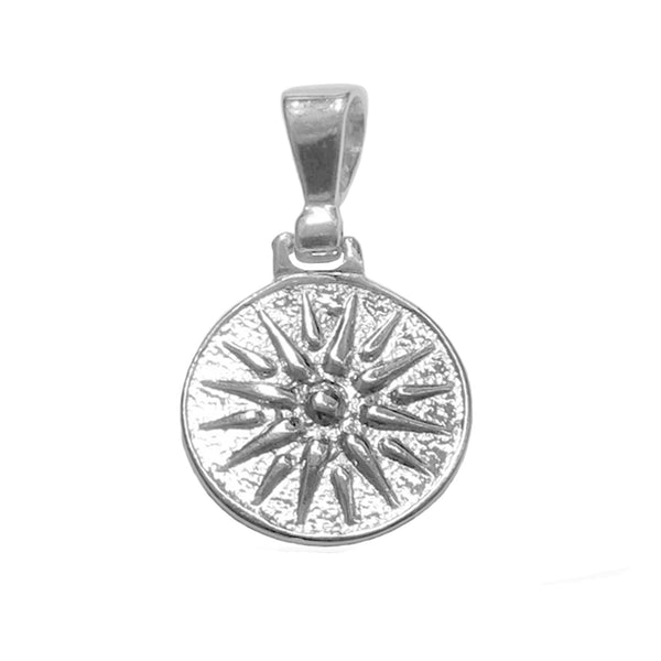 Sterling Silver Star of Vergina Macedonia Pendant