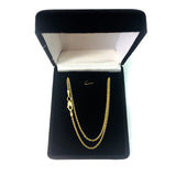 14k Yellow Gold Forsantina Chain Necklace, 1.5mm