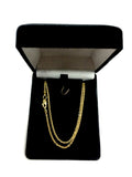 14k Yellow Gold Forsantina Chain Necklace, 1.9mm