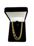 14k Yellow Gold Forsantina Chain Necklace, 3.1mm - JewelryAffairs  - 4