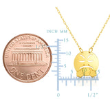 14k Yellow Gold Angry Steam Exhaling Emoji Necklace, 16""