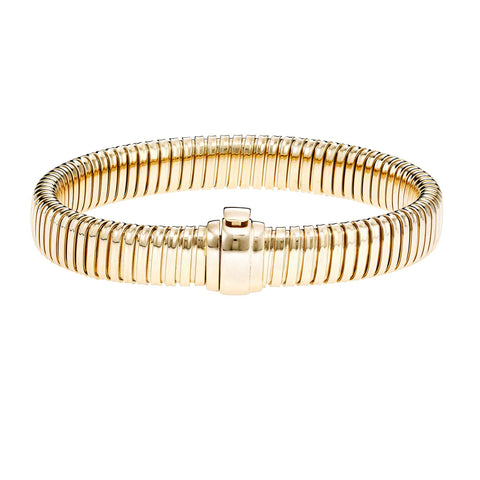 14k Yellow Gold Fancy Link Womens Bracelet, 7.5""