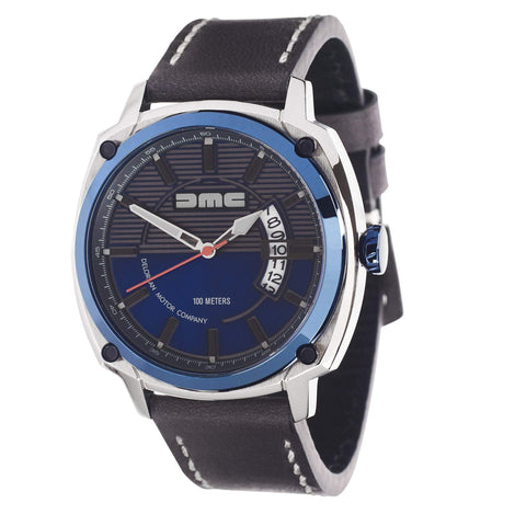 Delorean DMC Alpha Blue Watch