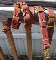 Laced Leather Reins