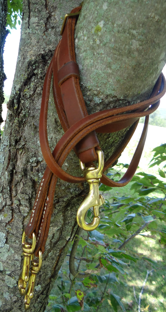 Leather Martingale Fork