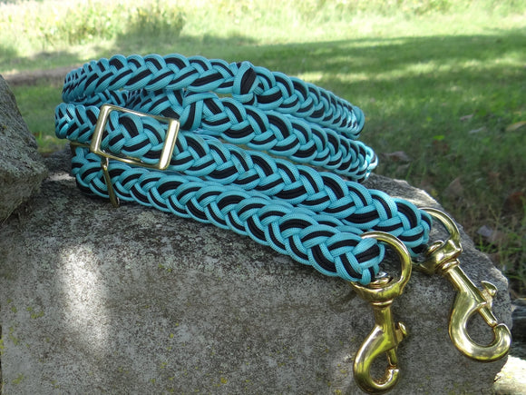 Braided Parachute Reins w/ Knots